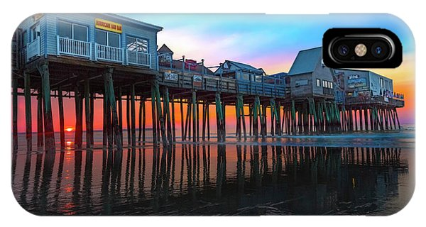 Orchard Beach iPhone Case - Maine Magnificent Morning by Betsy Knapp