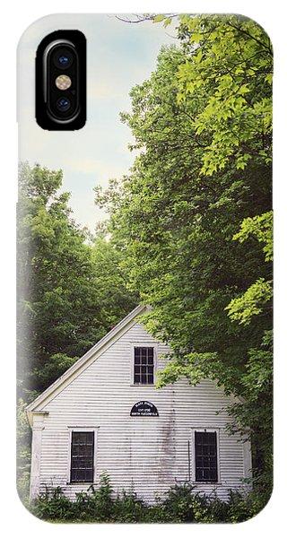 Maine School House IPhone Case