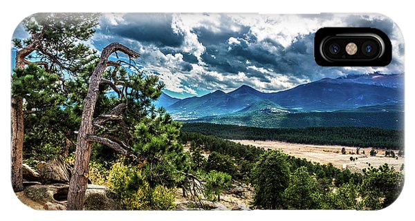 IPhone Case featuring the photograph Majestic Clouds by James L Bartlett