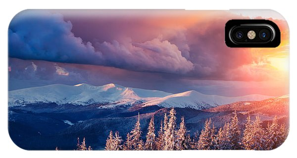 Fairytales iPhone Case - Majestic Landscape Glowing By Sunlight by Creative Travel Projects