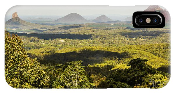 Qld iPhone Case - Majestic Maleny And Beyond by Jorgo Photography - Wall Art Gallery