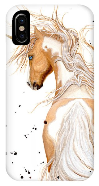 Unicorn iPhone Case - Majestic Unicorn By Bihrle by AmyLyn Bihrle