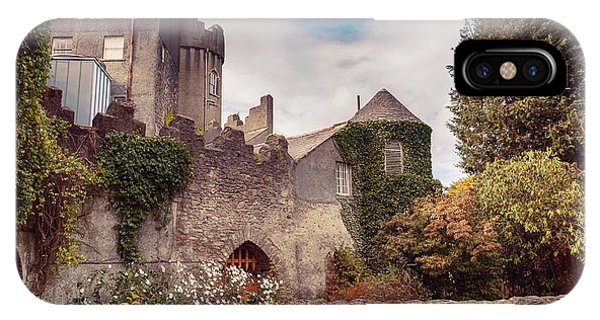 IPhone Case featuring the photograph Malahide Castle By Autumn  by Ariadna De Raadt