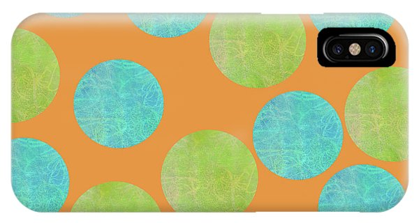 Malaysian Batik Polka Dot Print IPhone Case