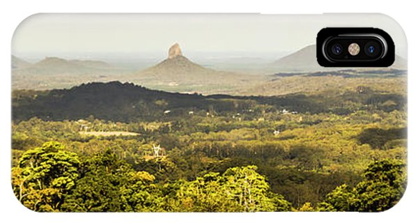 Qld iPhone Case - Maleny To The Glass House Mountains by Jorgo Photography - Wall Art Gallery