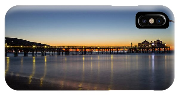 Malibu Pier At Sunrise IPhone Case