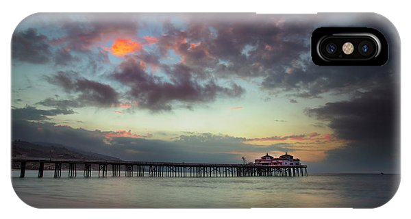 Malibu Pier IIi IPhone Case