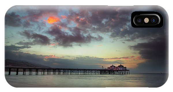 Malibu Pier IIi IPhone Case