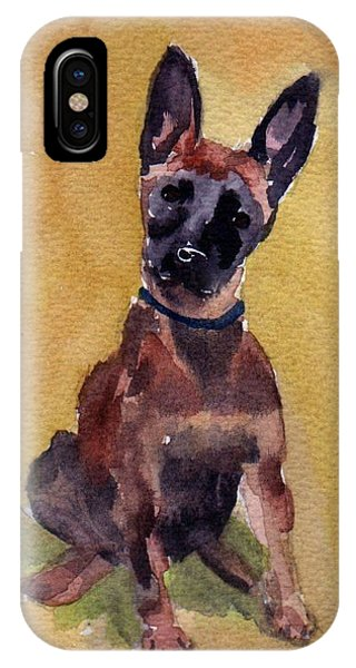 Malinois Pup IPhone Case