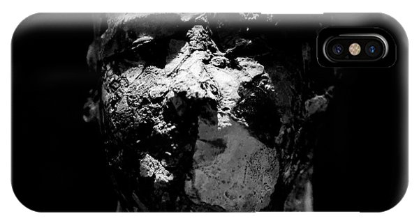 IPhone Case featuring the photograph Man In Decay by Sue Harper