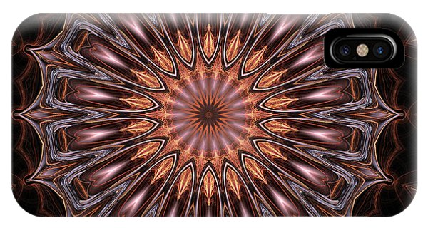 Fall Colors iPhone Case - Mandala 18 by John Edwards