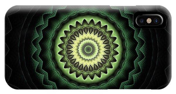 Fall Colors iPhone Case - Mandala 24 by John Edwards