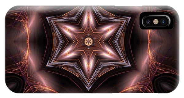 Fall Colors iPhone Case - Mandala 6 by John Edwards