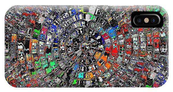 IPhone Case featuring the digital art Mandala Grafundi by David Manlove