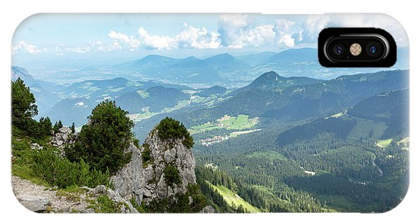 IPhone Case featuring the photograph Mannlsteig, Berchtesgadener Land by Andreas Levi