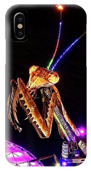 IPhone Case featuring the photograph Mantis by Skip Hunt