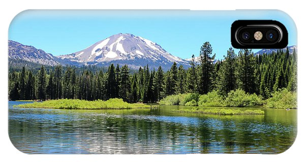 Manzanita Lake Reflection 1 IPhone Case