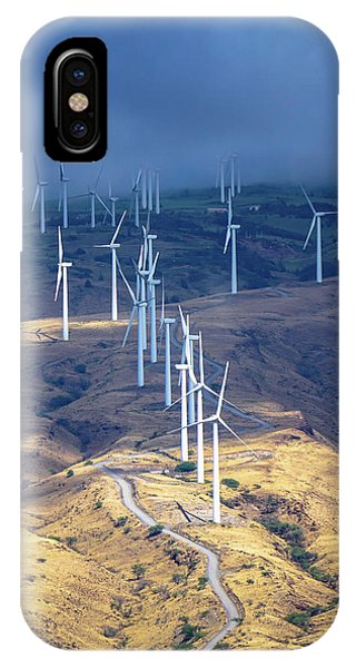 March Of The Windmills IPhone Case