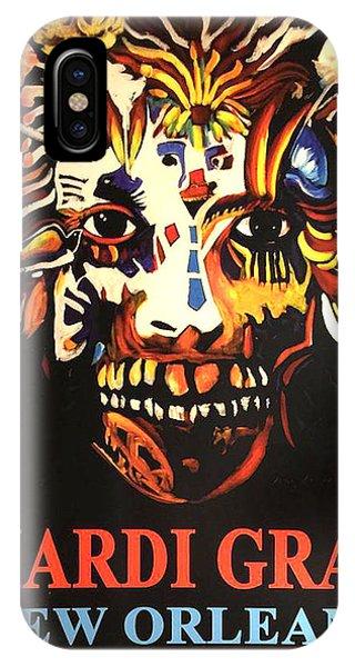Mardi Gras Spirit 2013 IPhone Case