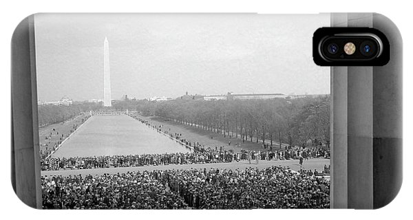 Lincoln Memorial iPhone Case - Marian Anderson Lincoln Memorial Concert - 1939 by War Is Hell Store