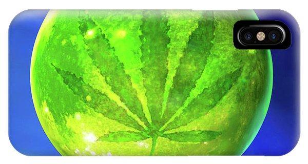 Marijuana Moon  IPhone Case