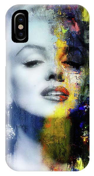 Actor iPhone Case - Marilyn Duality by Mal Bray