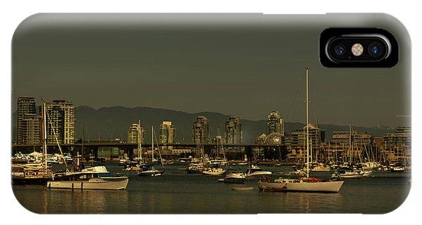 Marina Golden Hours IPhone Case