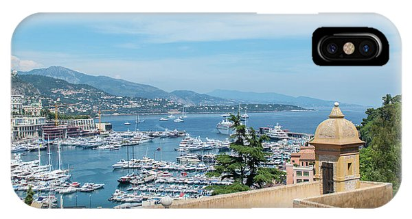 Condo iPhone Case - Marina, Port Hercule, Monaco, Cote by Jim Engelbrecht