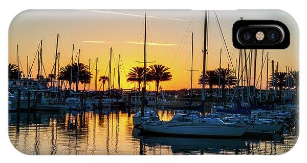 Marina Sunrise-1 IPhone Case