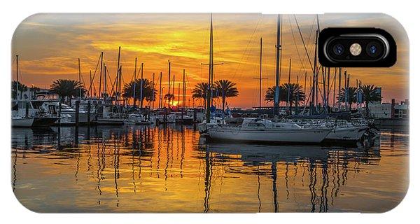 Marina Sunrise-2 IPhone Case