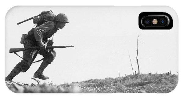 Military iPhone Case - Marine Dash On Okinawa by War Is Hell Store
