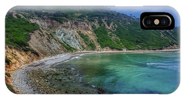 Marine Layer Over Bluff Cove IPhone Case