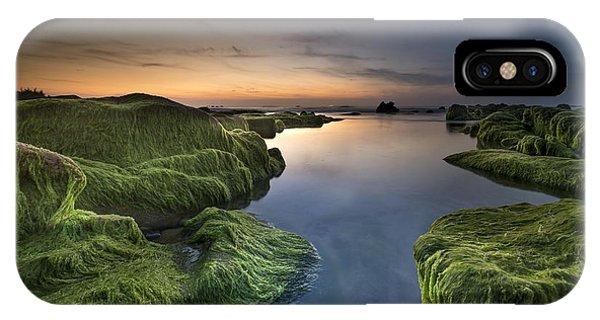 Marine Sunset IPhone Case