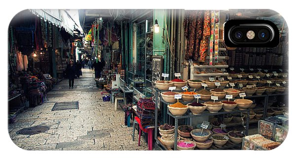 People iPhone Case - Market In Old City Of Jerusalem by Georgy Kuryatov