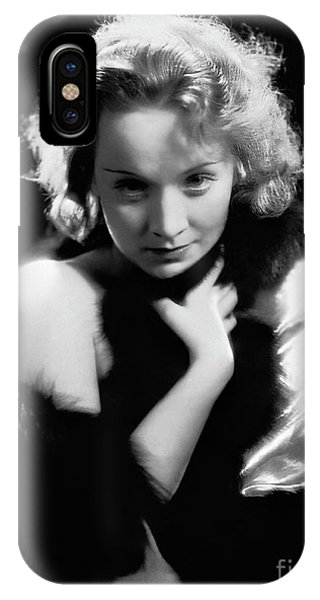 Leading Actress iPhone Case - Marlene Dietrich In Dishonored, 1931 by European School