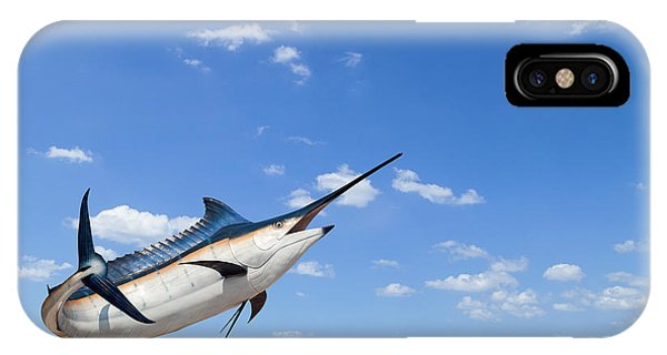 Fins iPhone Case - Marlin - Swordfish,sailfish Saltwater by Pk.phuket Studio