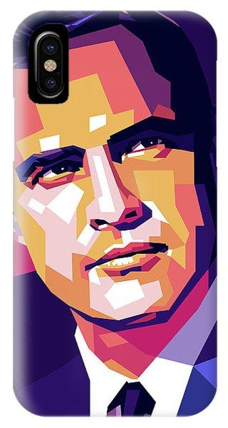 Marlon Brando Illustration IPhone Case