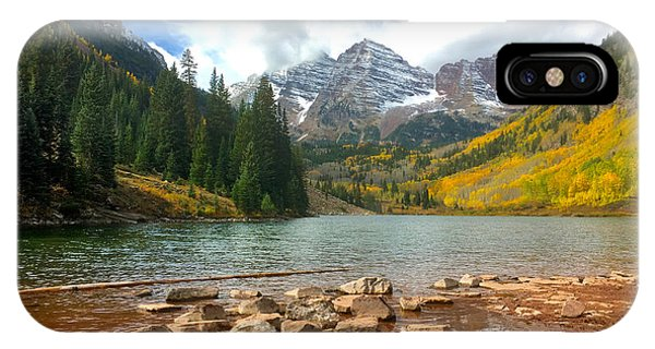 Maroon Bells IPhone Case