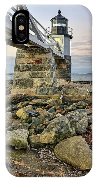 Marshall Point Light From The Rocks IPhone Case