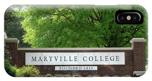 Maryville College Sign IPhone Case