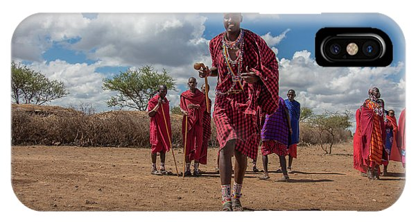 Maasai Welcome IPhone Case