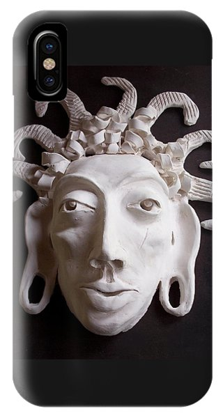 Mask The Aztec IPhone Case
