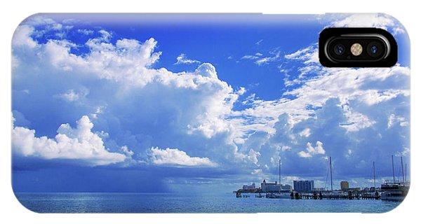 Massive Caribbean Clouds IPhone Case