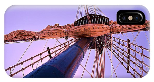 Mast And Sails IPhone Case