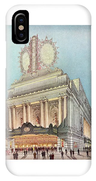 Mastbaum Theatre IPhone Case