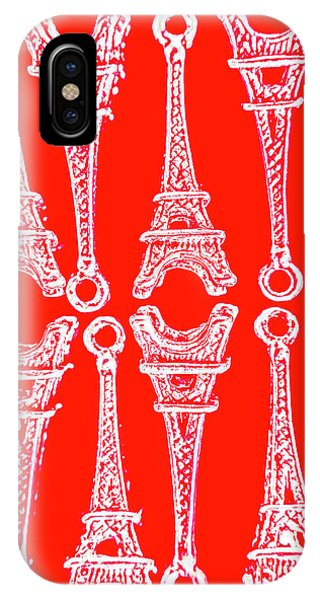 French iPhone X Case - Match Made In Paris by Jorgo Photography - Wall Art Gallery