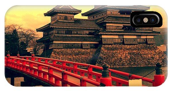 Old Building iPhone Case - Matsumoto Castle, Japan by Neale Cousland