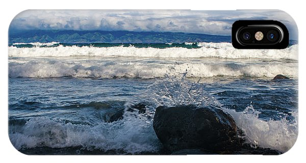 Maui Breakers Pano IPhone Case