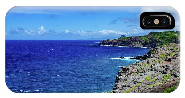 IPhone Case featuring the photograph Maui Coast by Jeff Phillippi