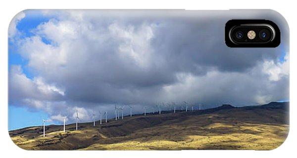 Maui Windmills Wide IPhone Case